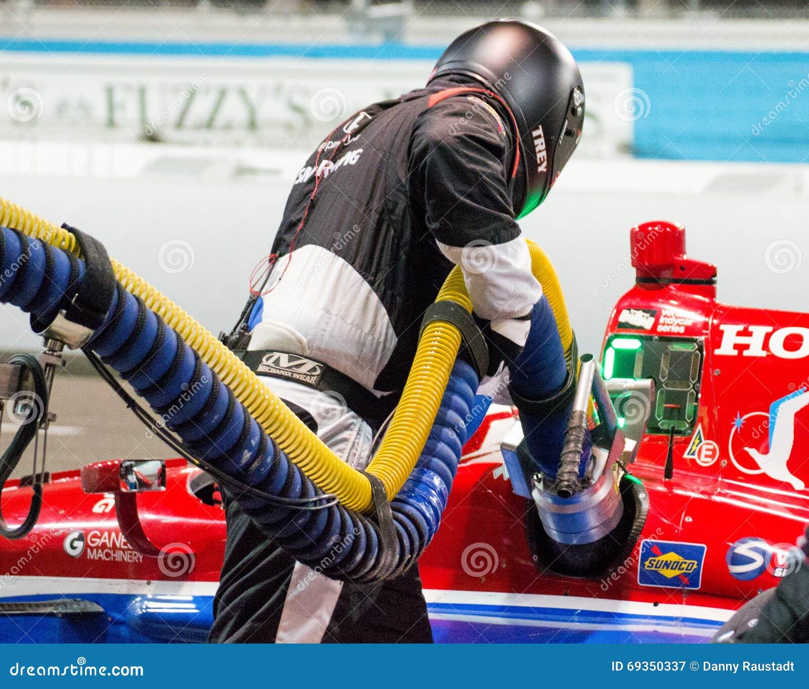 Indy Car Fuel Pit Stop