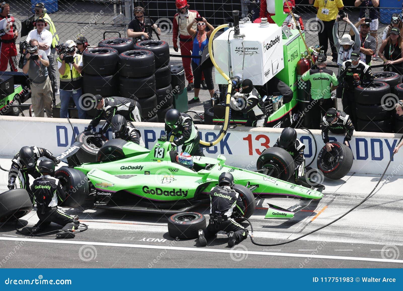 IndyCar: Am 27. Mai Indianapolis 500