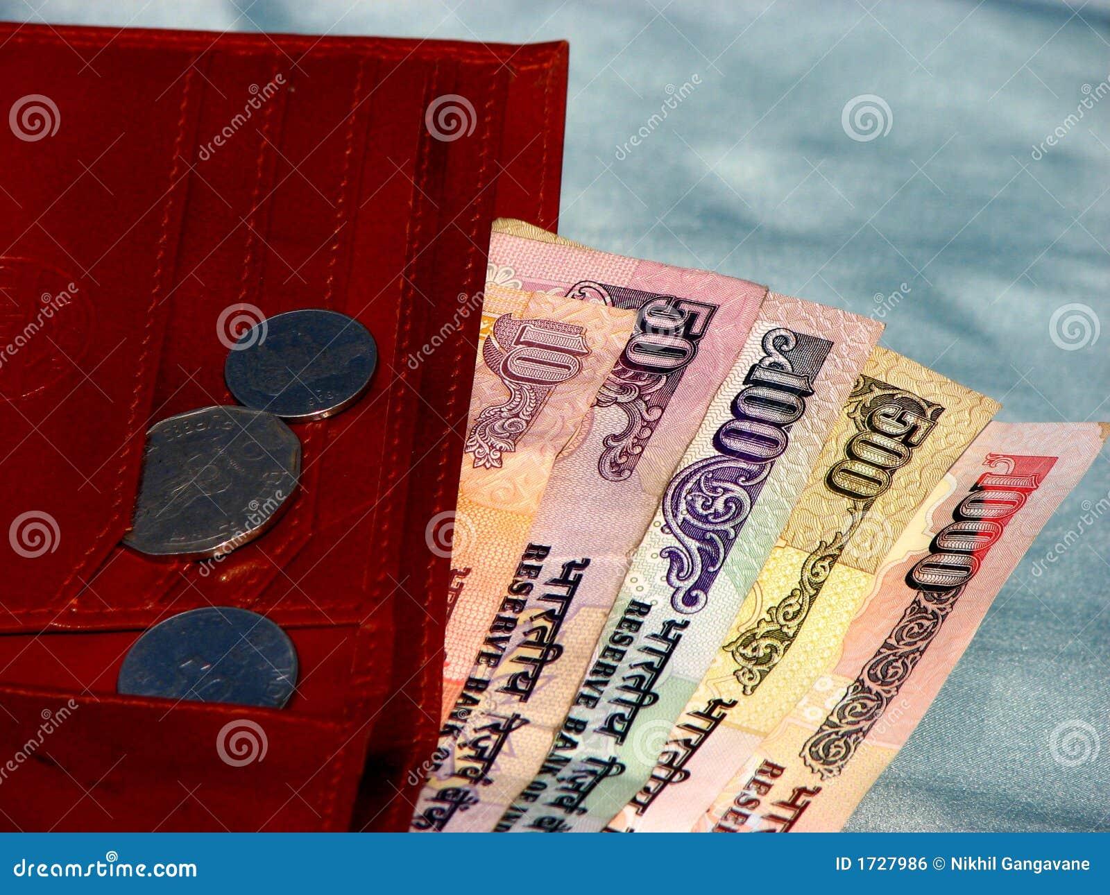 Indyjski pieniądze