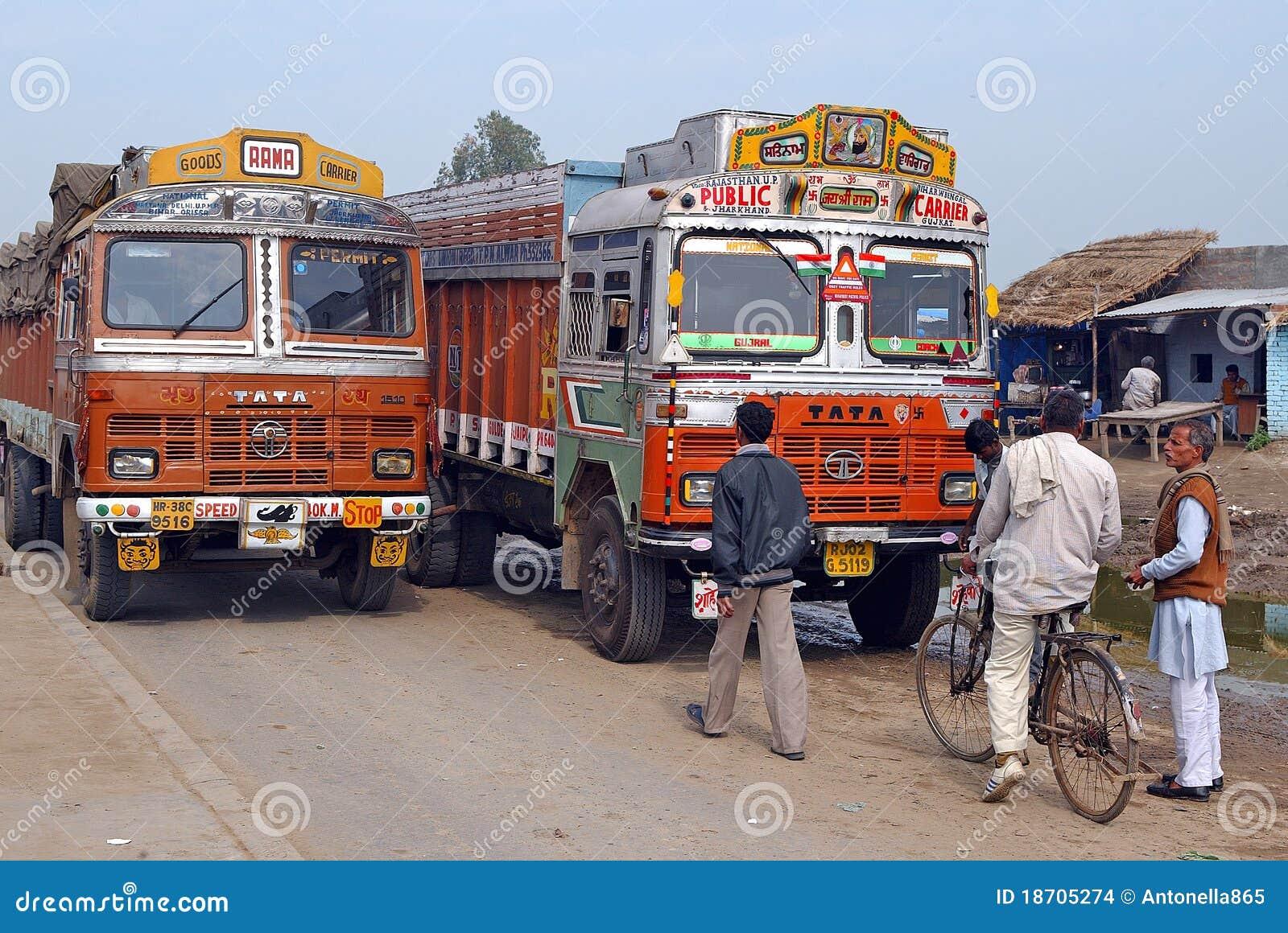 Indyjskie ciężarówki