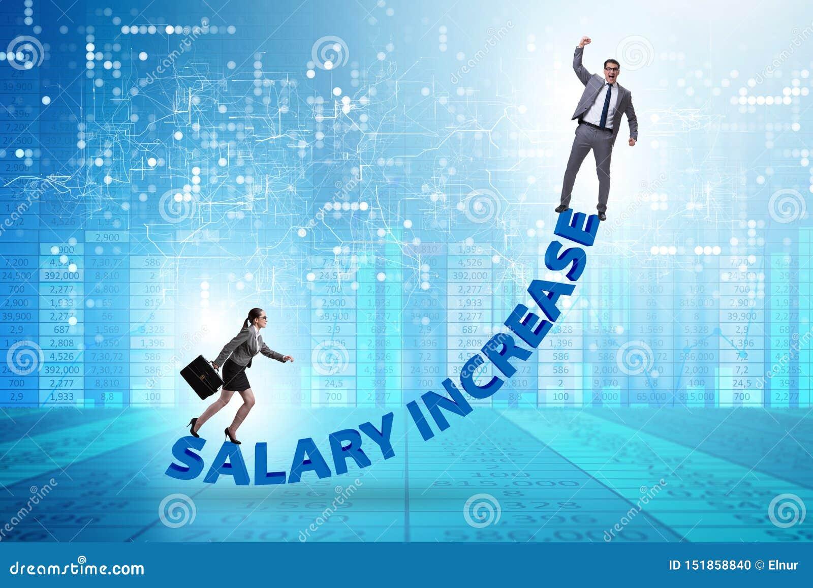 Inequal wynagrodzenia pojęcie między mężczyzną i kobietą