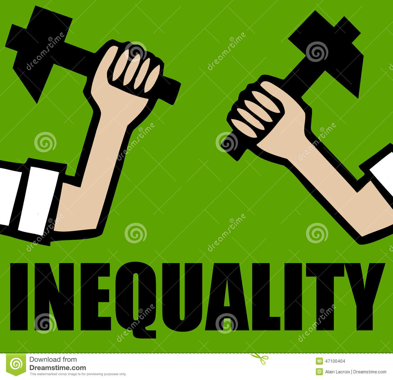 equality and inequality in society Social inequality is characterized by the existence of unequal opportunities and rewards for different social positions or statuses within a group or society it contains structured and recurrent patterns of unequal distributions of goods, wealth, opportunities, rewards, and punishments racism, for .