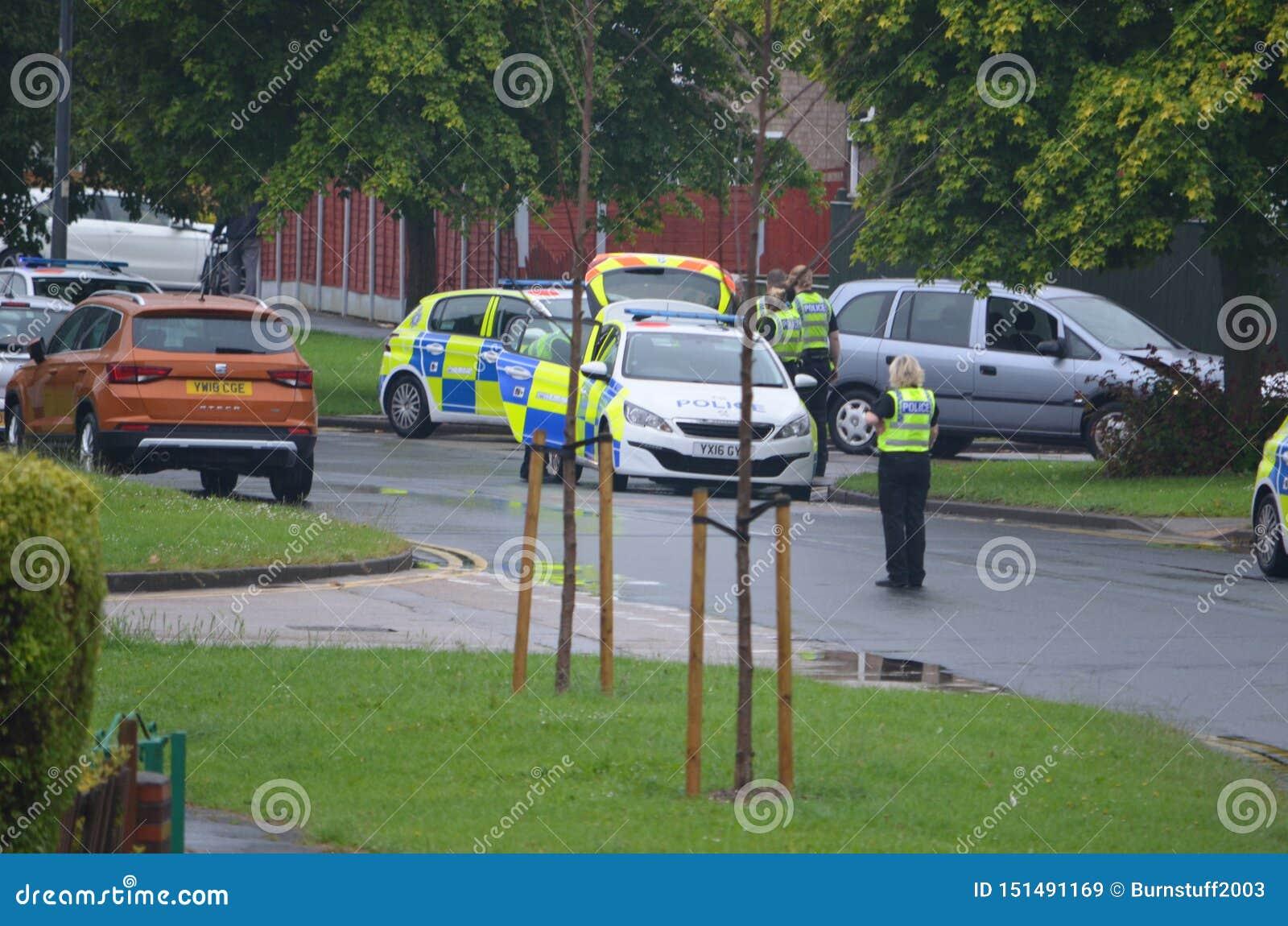 Infallande bilkrasch för polisen, RTC