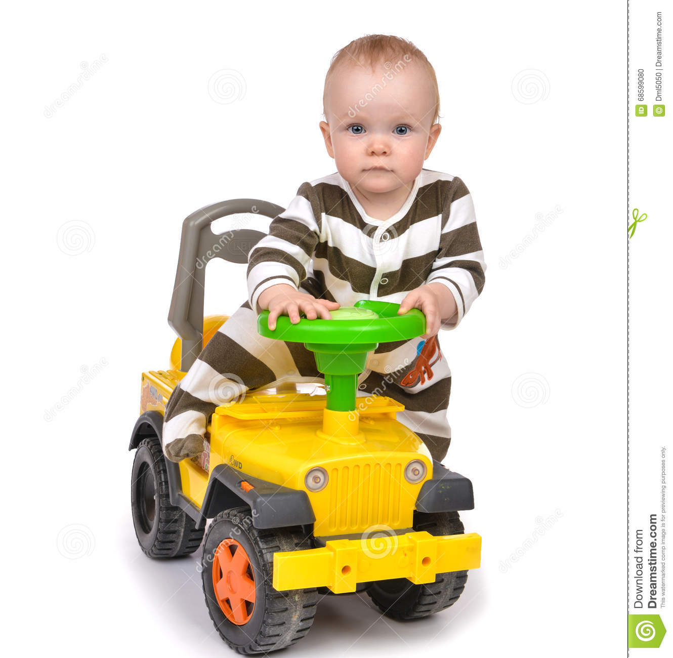 Infant Child Baby Boy Toddler Happy Driving Big Toy Car ...