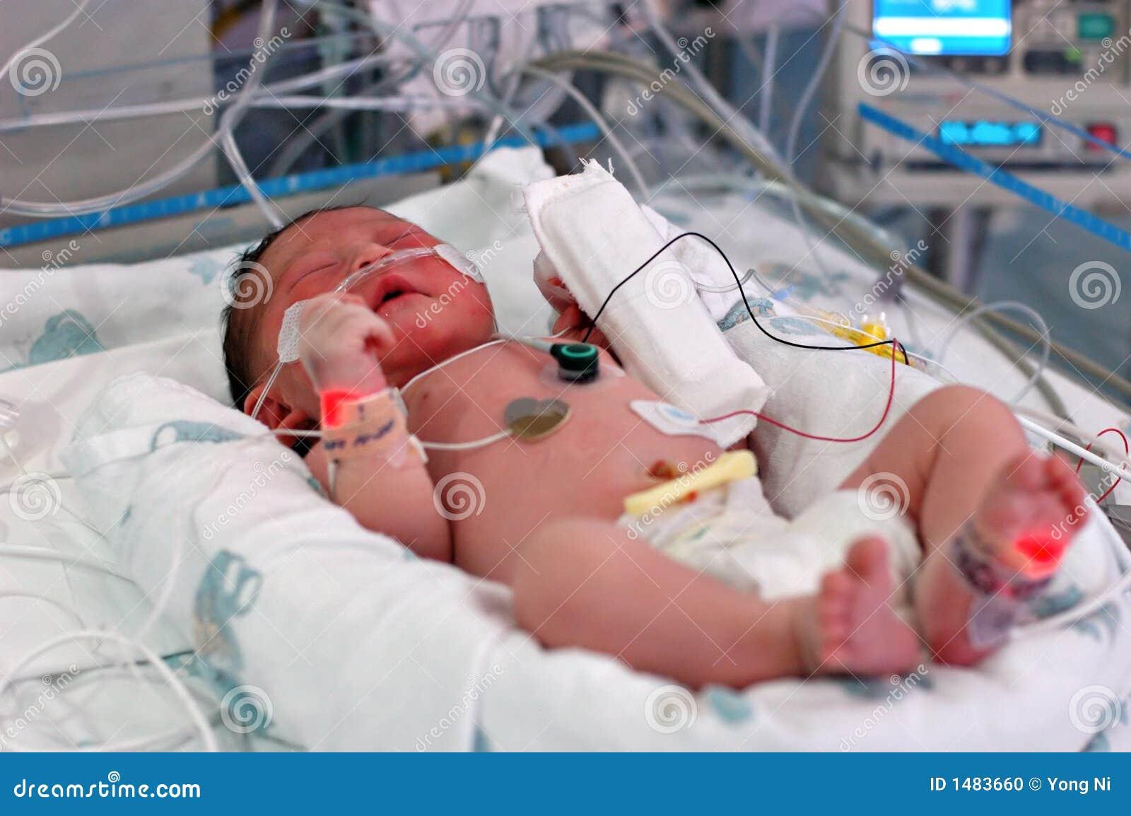 Infant in NICU