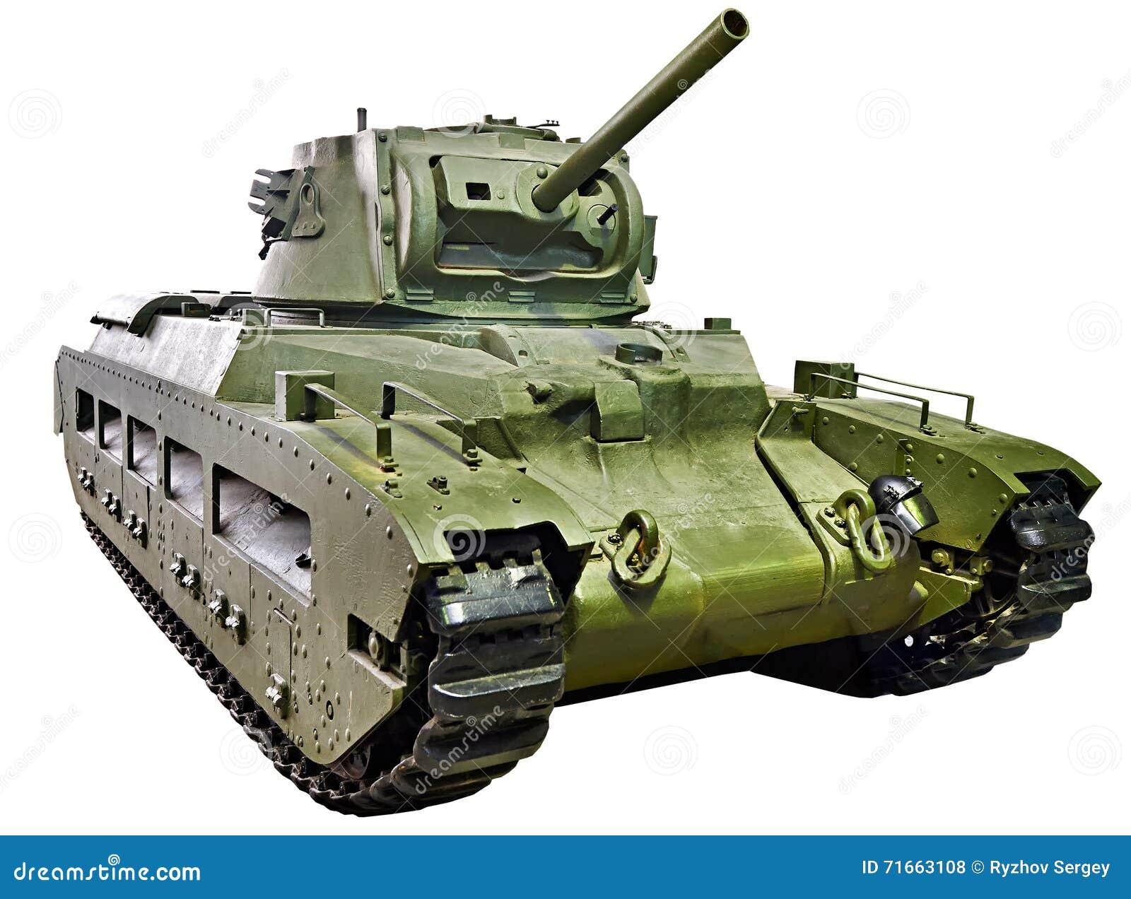 Infanterie Mk de réservoir des Anglais II CS de Matilda III d isolement