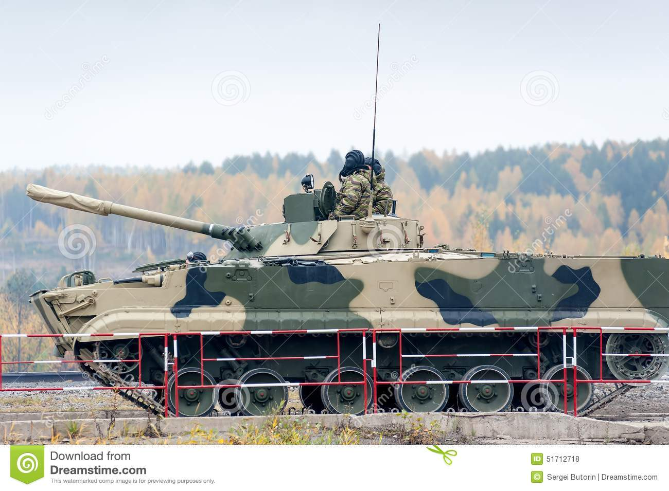 Infantry Fighting Vehicle BMP-3M In Motion Editorial Stock ...