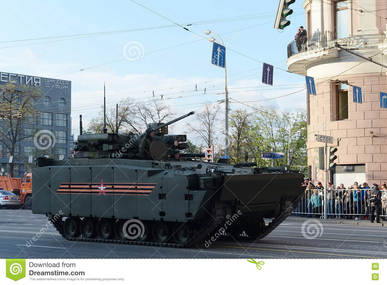 The infantry fighting vehicle Kurganets-25 is preparing for tests