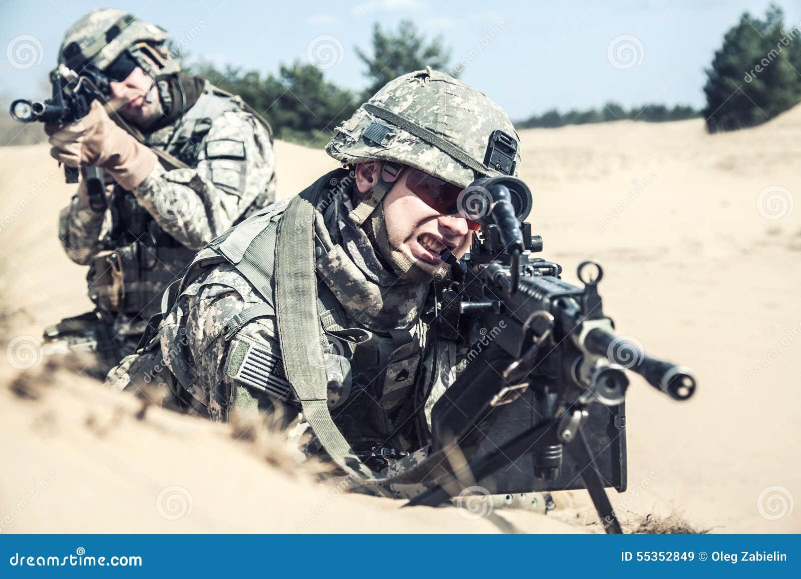 Infantrymen w akci