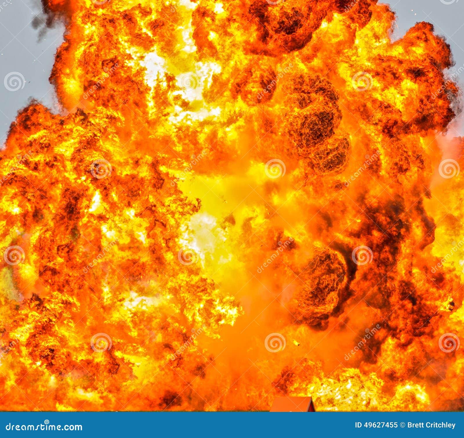 Inferno fire background