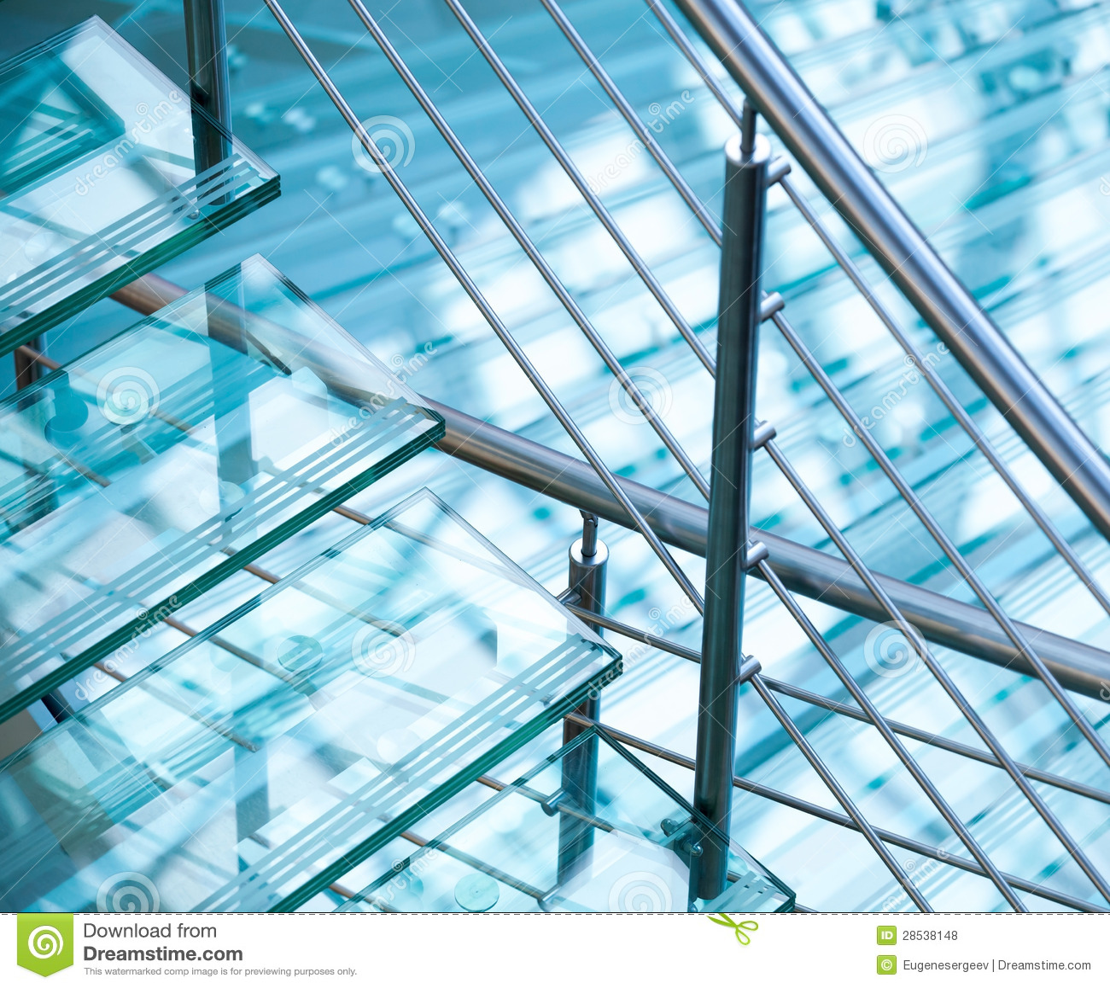 Inferriate moderne e scale d 39 acciaio fatte di vetro - Scale in vetro e acciaio prezzi ...