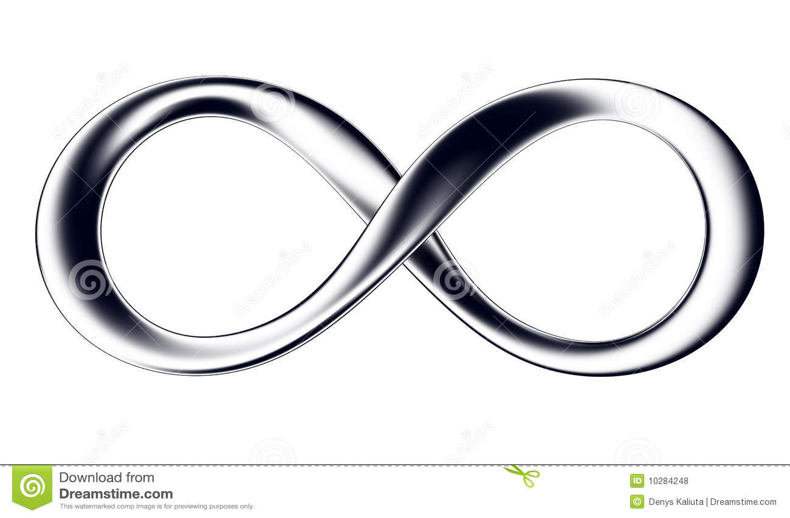 Infini noir photos libres de droits image 10284248 - Le signe de l infini ...
