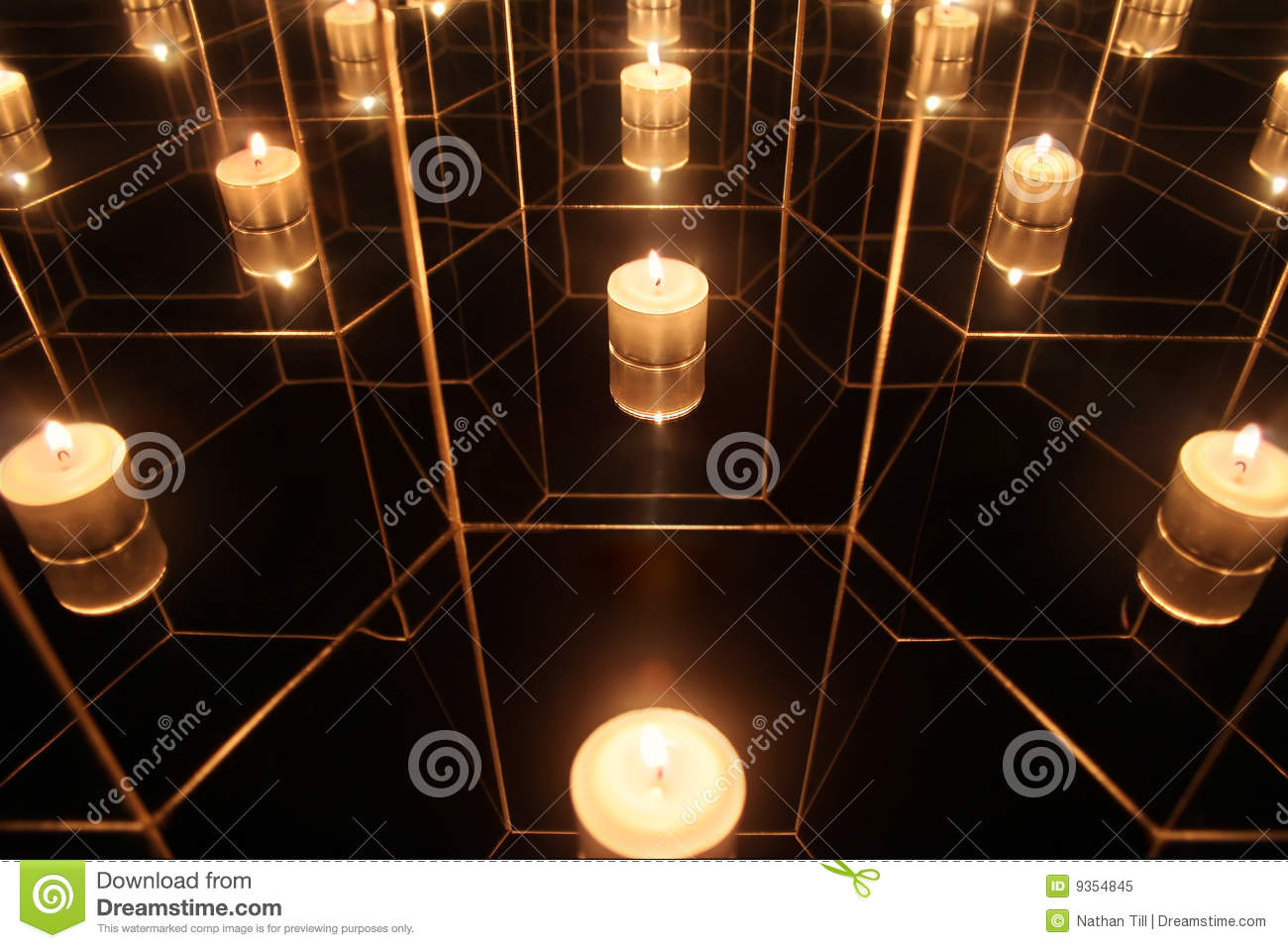 Infinite Flame Stock Image Image Of Light Background