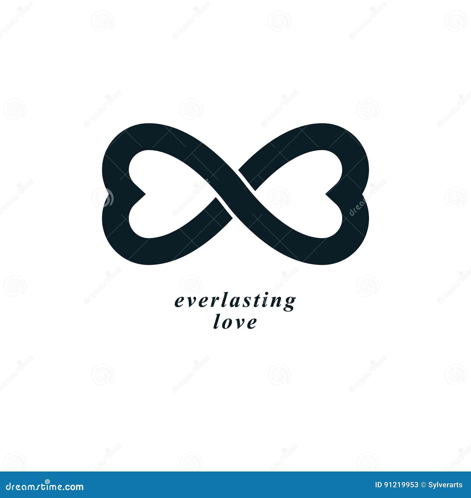 Infinite love concept vector symbol created with infinity sign infinite love concept vector symbol created with infinity sign biocorpaavc Images