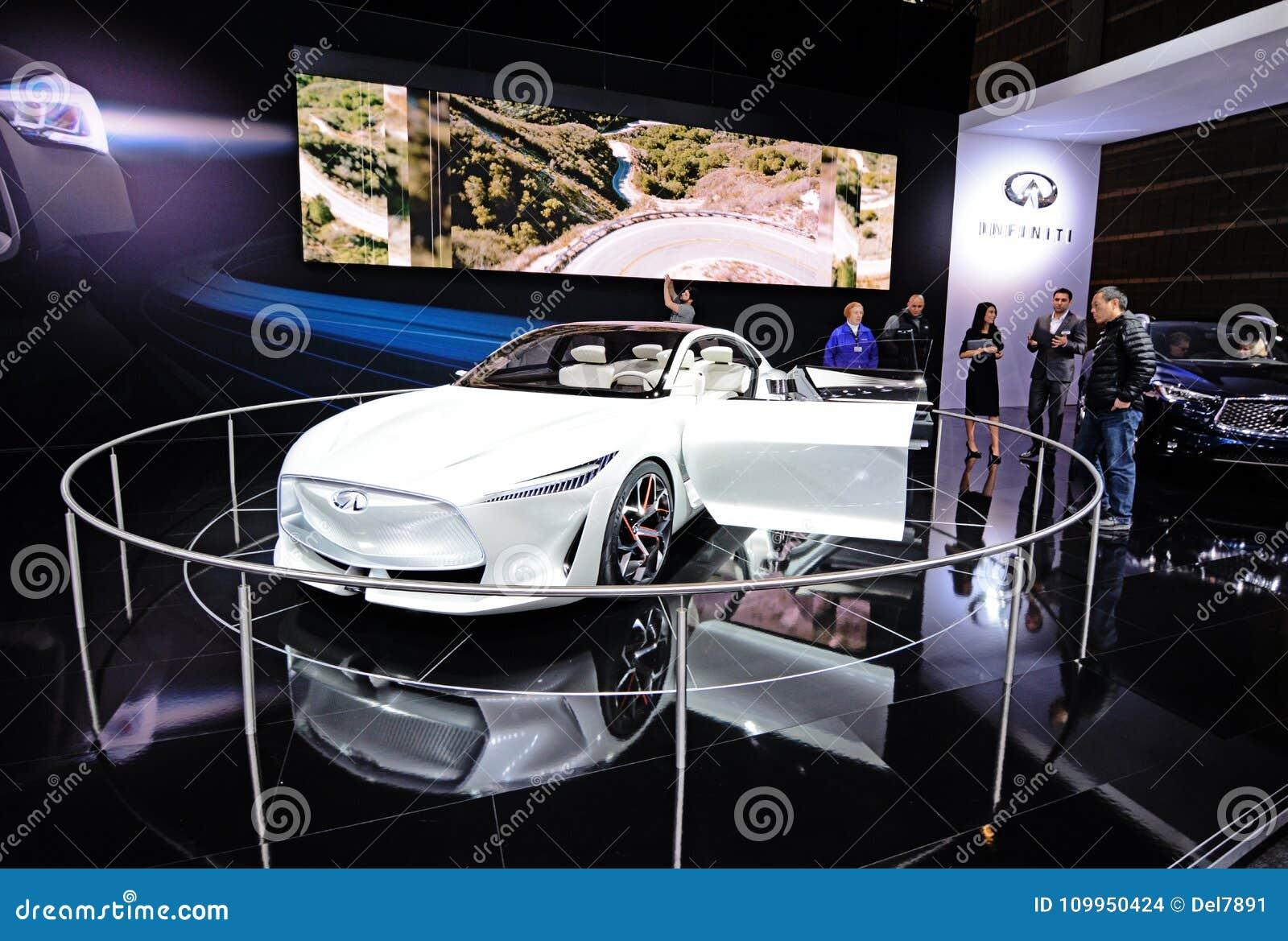 Infiniti Q Inspiration Concept Car Editorial Stock Image - Mccormick place car show