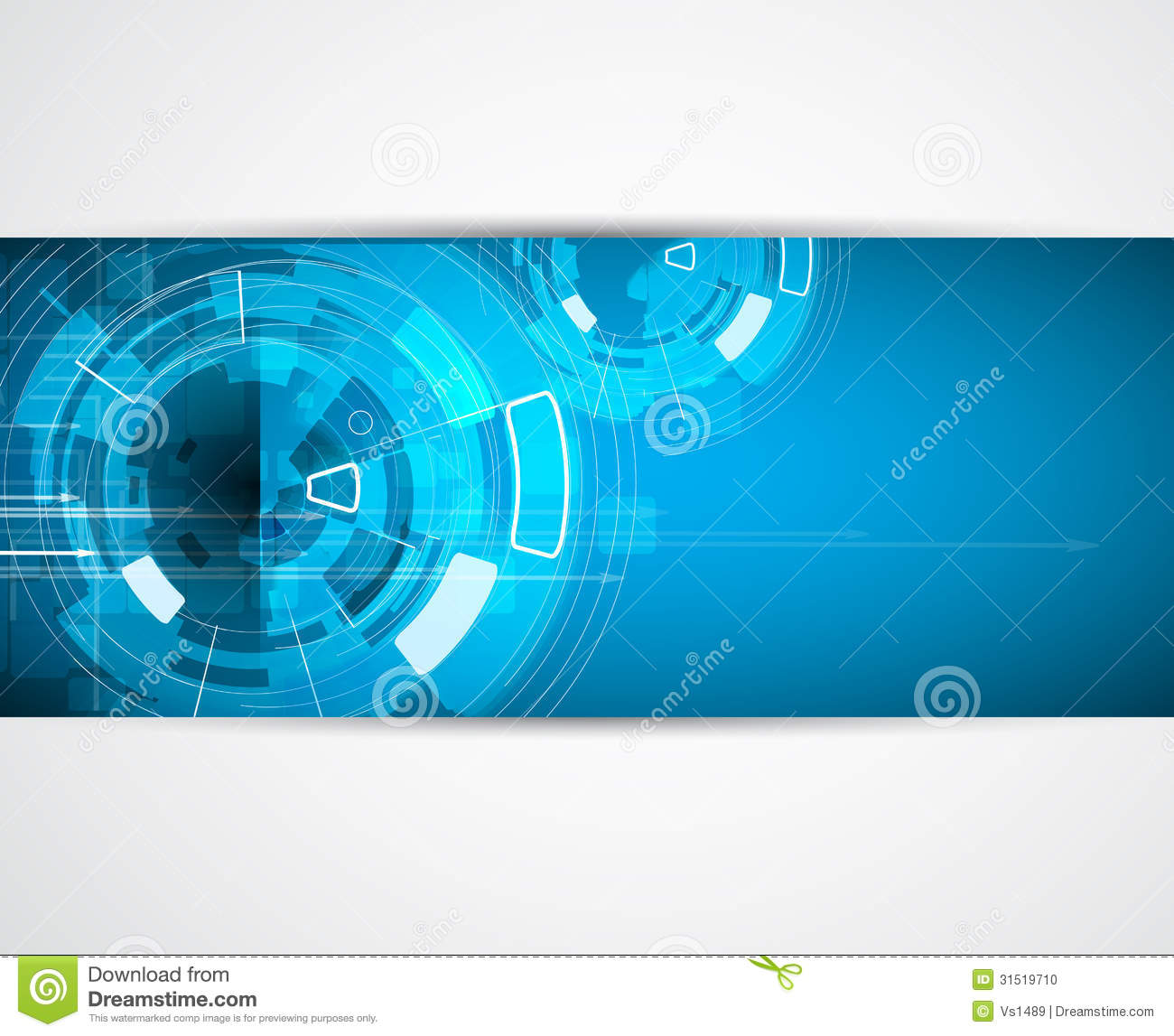 infinity computer new technology concept business background stock