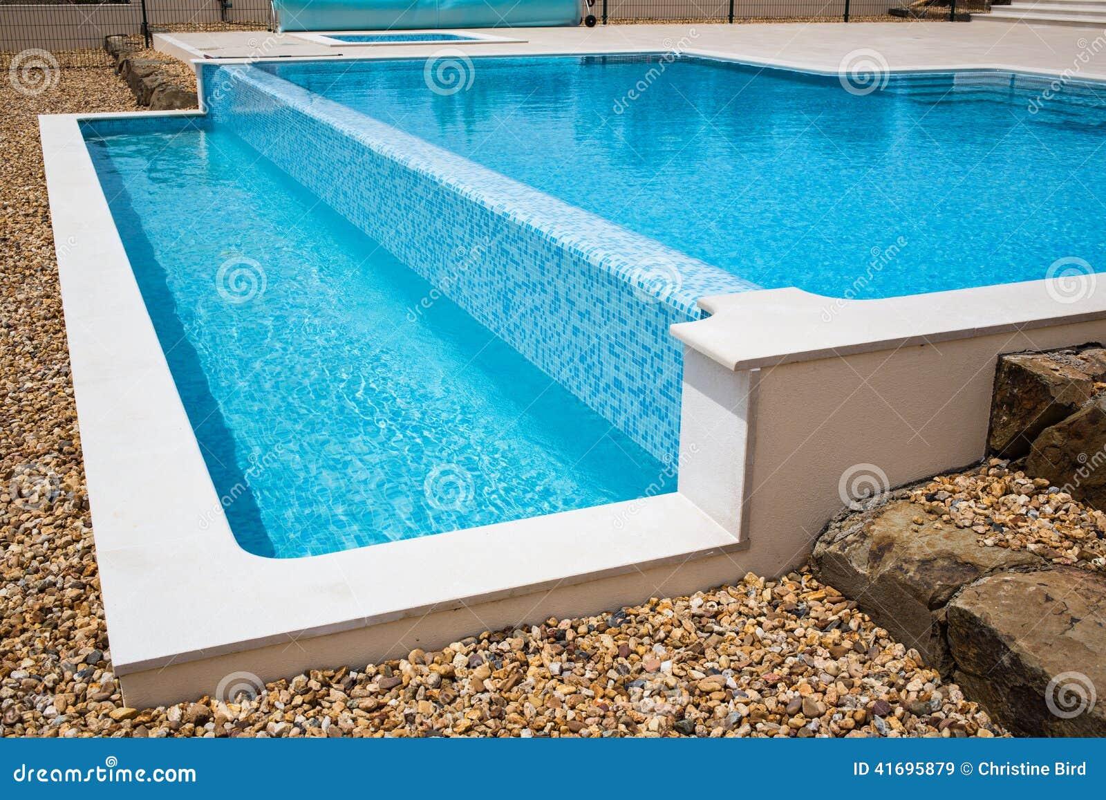 Infinity Pool Overflow stock image. Image of swimming - 41695879