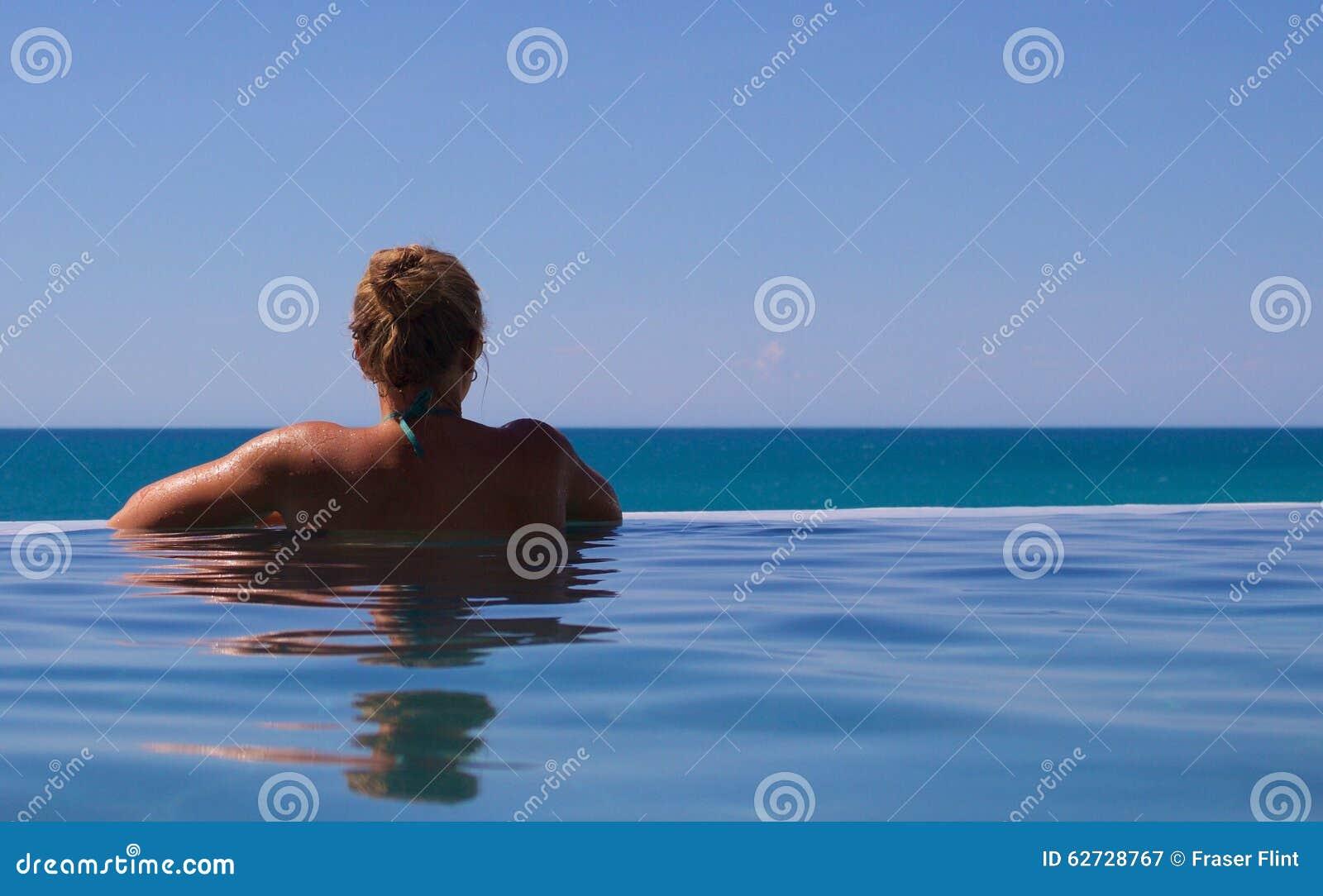 infinity pool overlooking ocean - photo #22