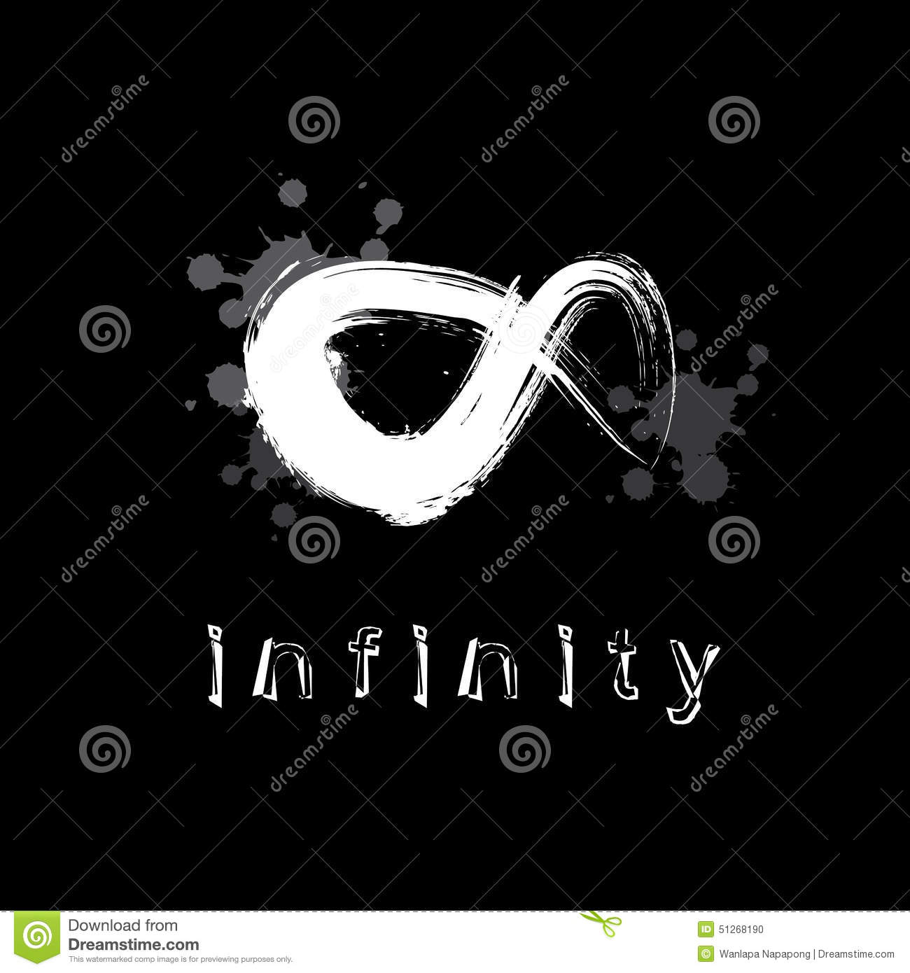 Infinity symbol stock vector illustration of color business 51268190 infinity symbol buycottarizona Gallery