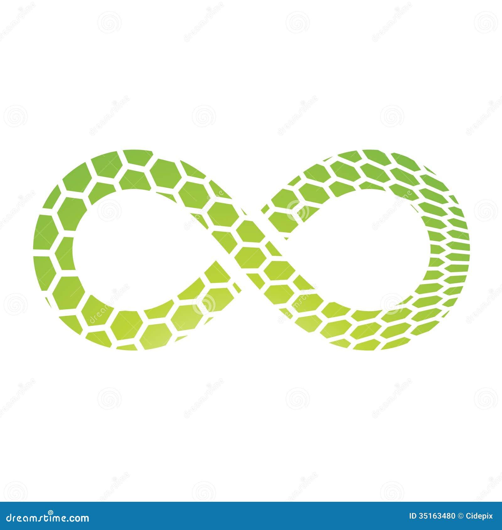 Infinity Symbol Design Stock Vector Illustration Of Image 35163480
