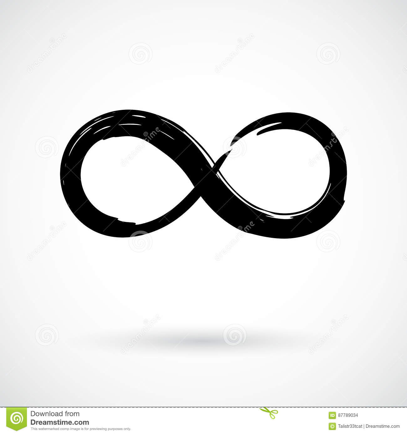 Infinity symbol brush stroke stock illustrations 95 infinity infinity symbol grunge brush stroke infinity symbol hand painted with ink ornamental rounded biocorpaavc