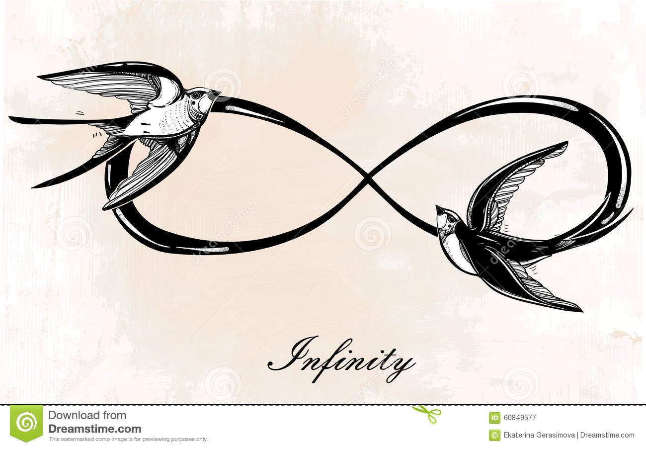 List Of Synonyms And Antonyms Of The Word Infinity Symbol With Flowers