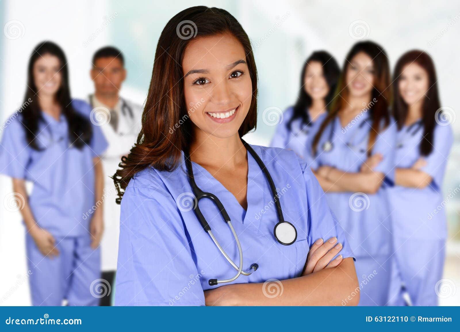 Infirmière dans l hôpital