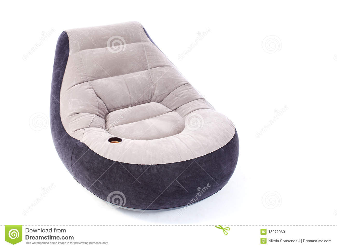 Inflatable armchair stock photo. Image of design, inside ...