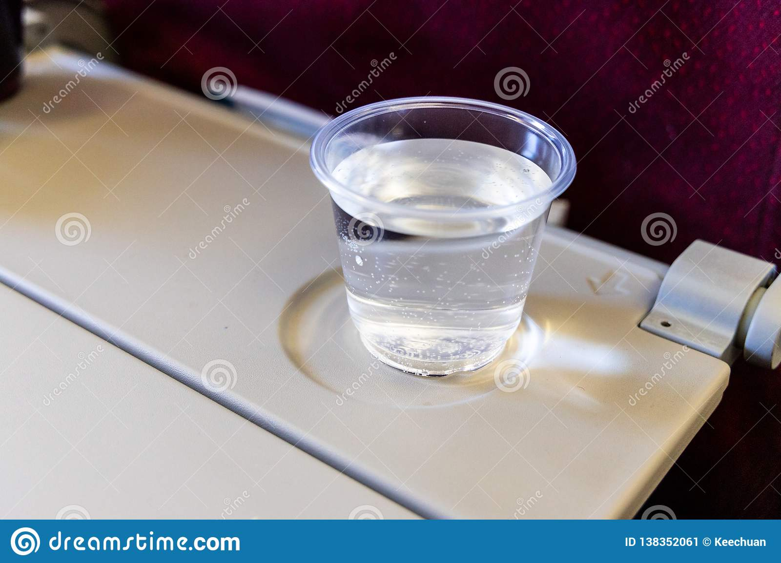 Brilliant Inflight Cabin Glass Of Water On Table Drink To Prevent Interior Design Ideas Inesswwsoteloinfo