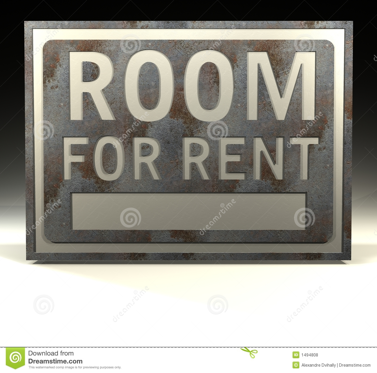 Room For Rent: Info Sign Room For Rent Royalty Free Stock Photos