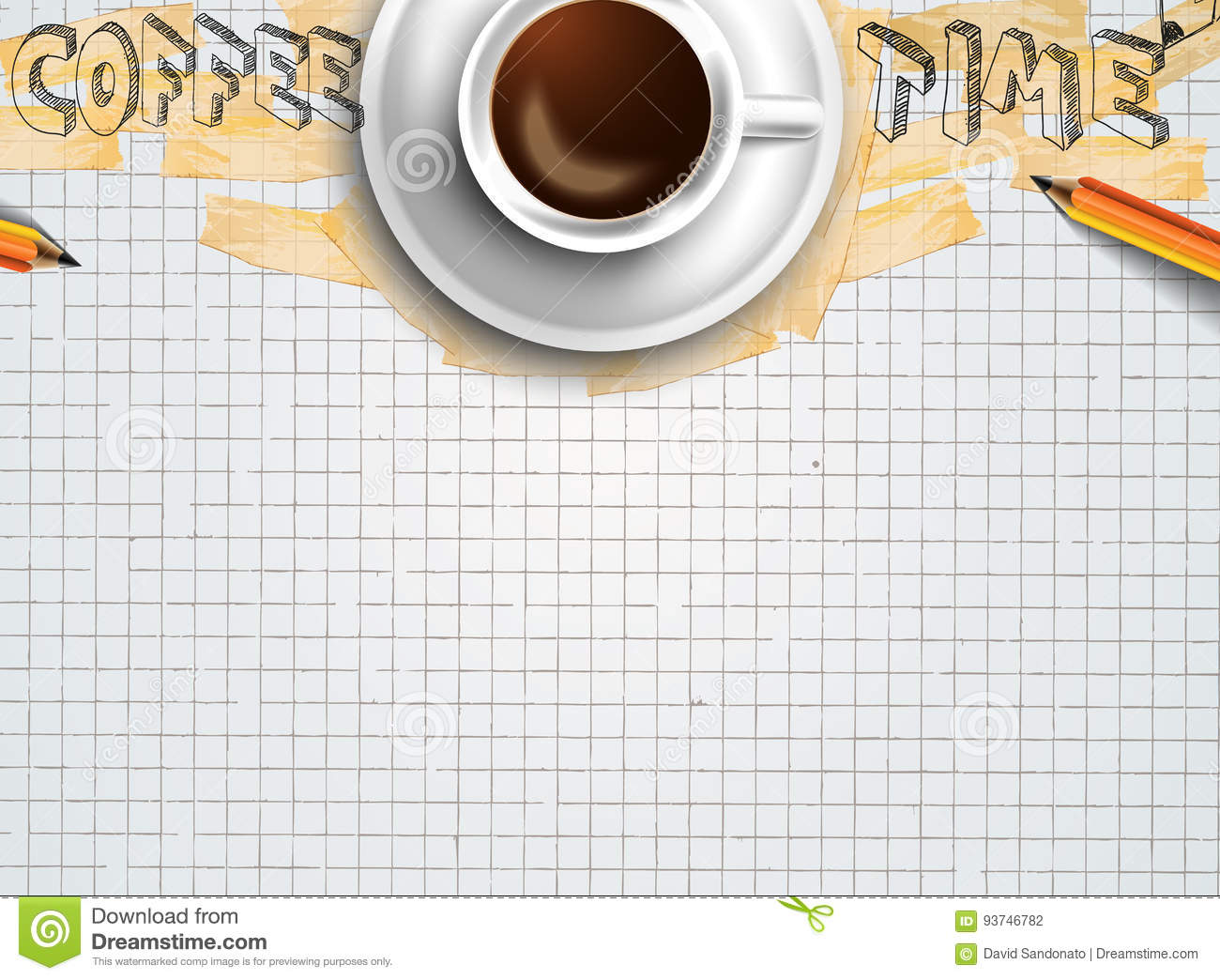 Infograph background template with a fresh coffee on table with infograph background template with a fresh coffee on table with infographic sketches geotapseo Gallery