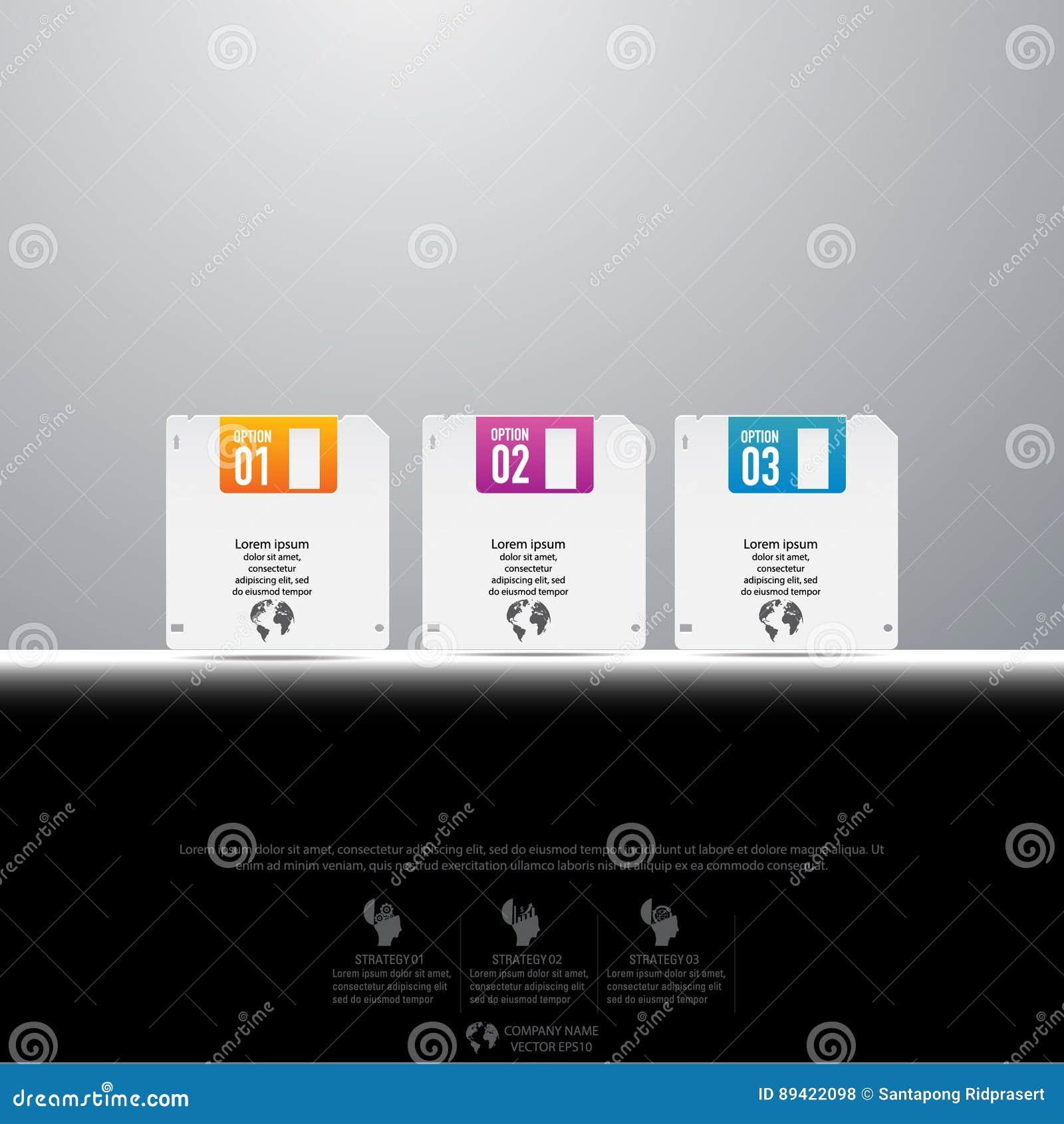 Infographic设计和模板营销象和Busi