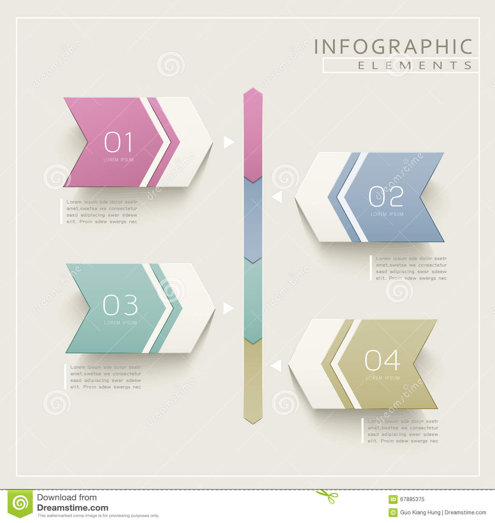 朴素infographic设计