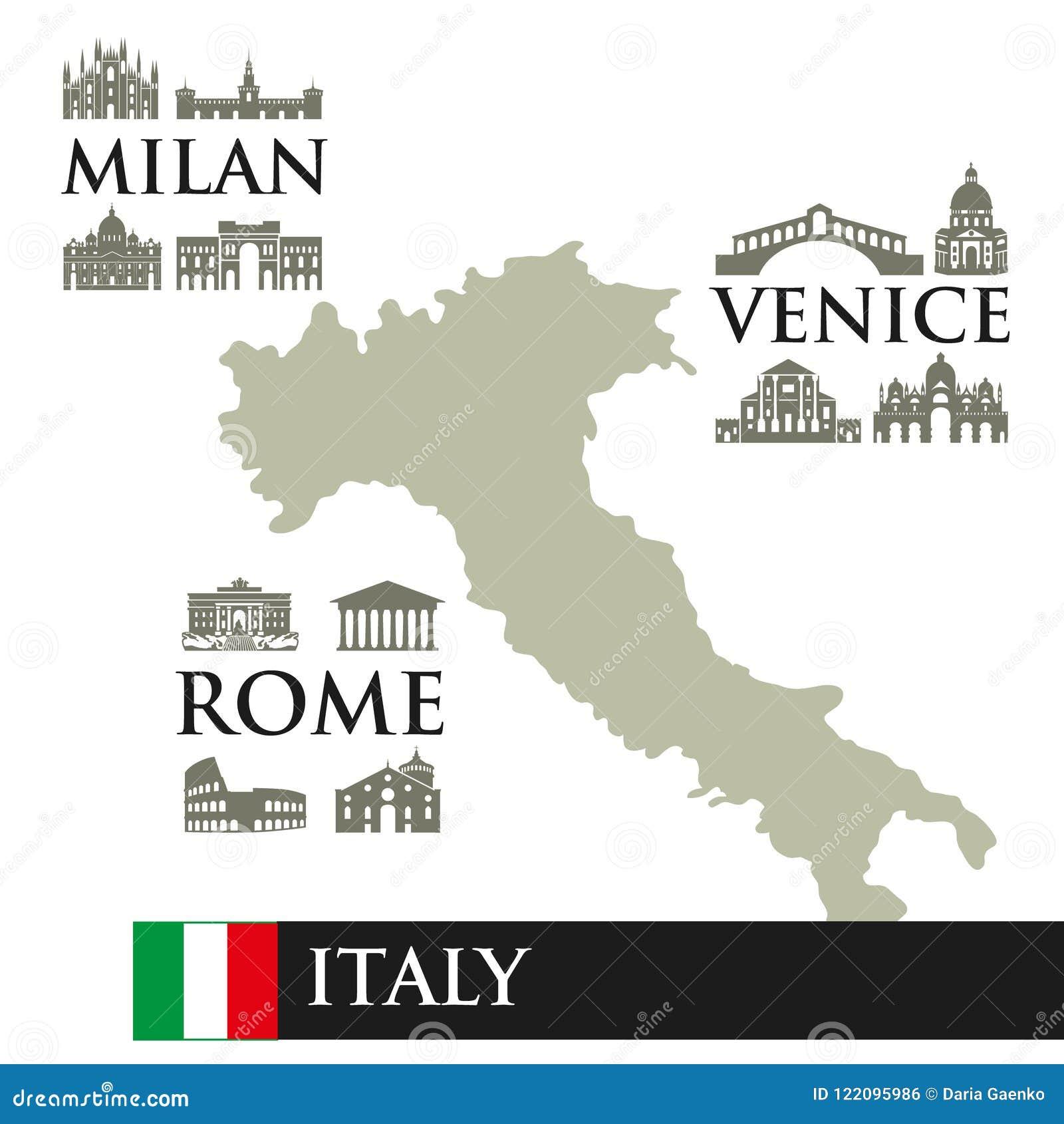 Infographic Xarths Ths Italias Perigra Symbola 8ewn Ths Polhs