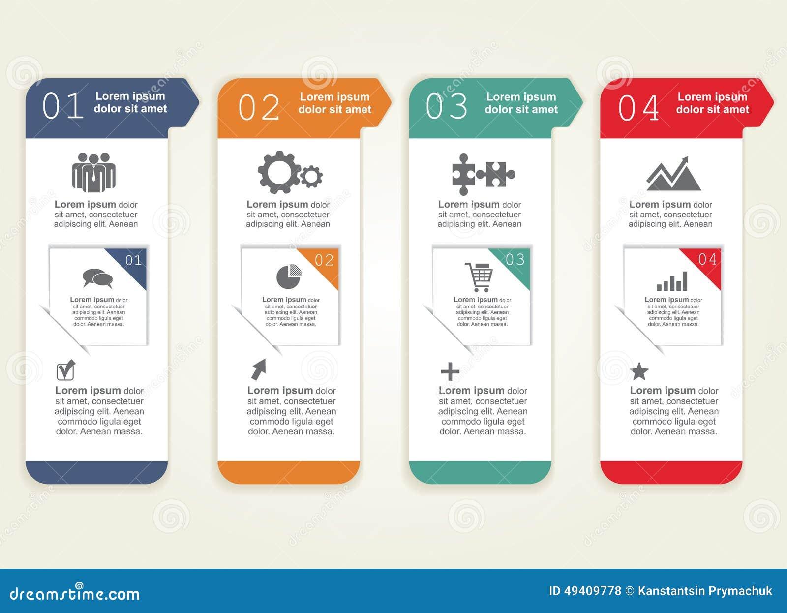 Download Infographic Auch Im Corel Abgehobenen Betrag Vektor Abbildung - Illustration von papier, internet: 49409778