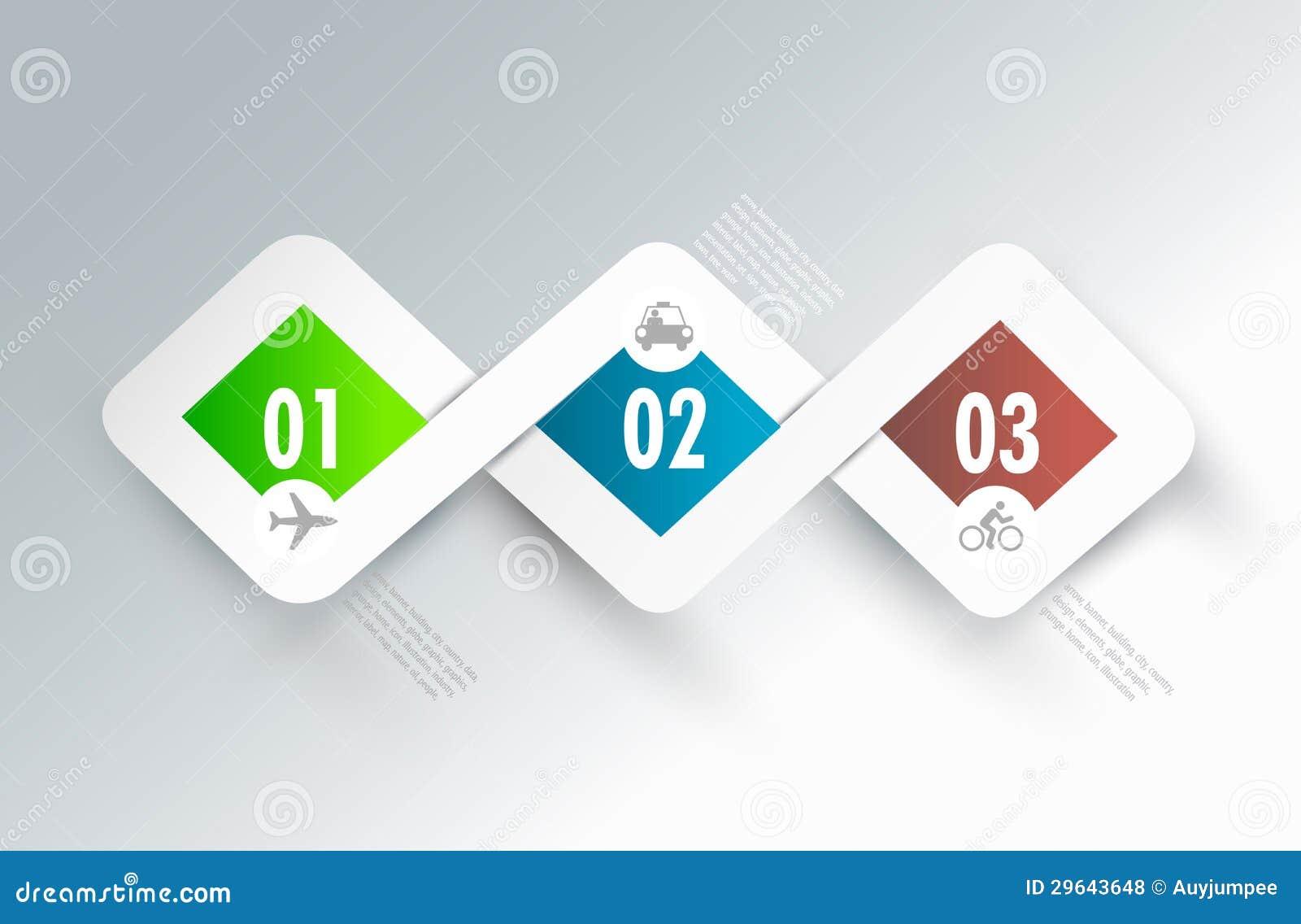 Design elements banner - Infographic Banner Design Elements Communication Royalty Free Stock Photos