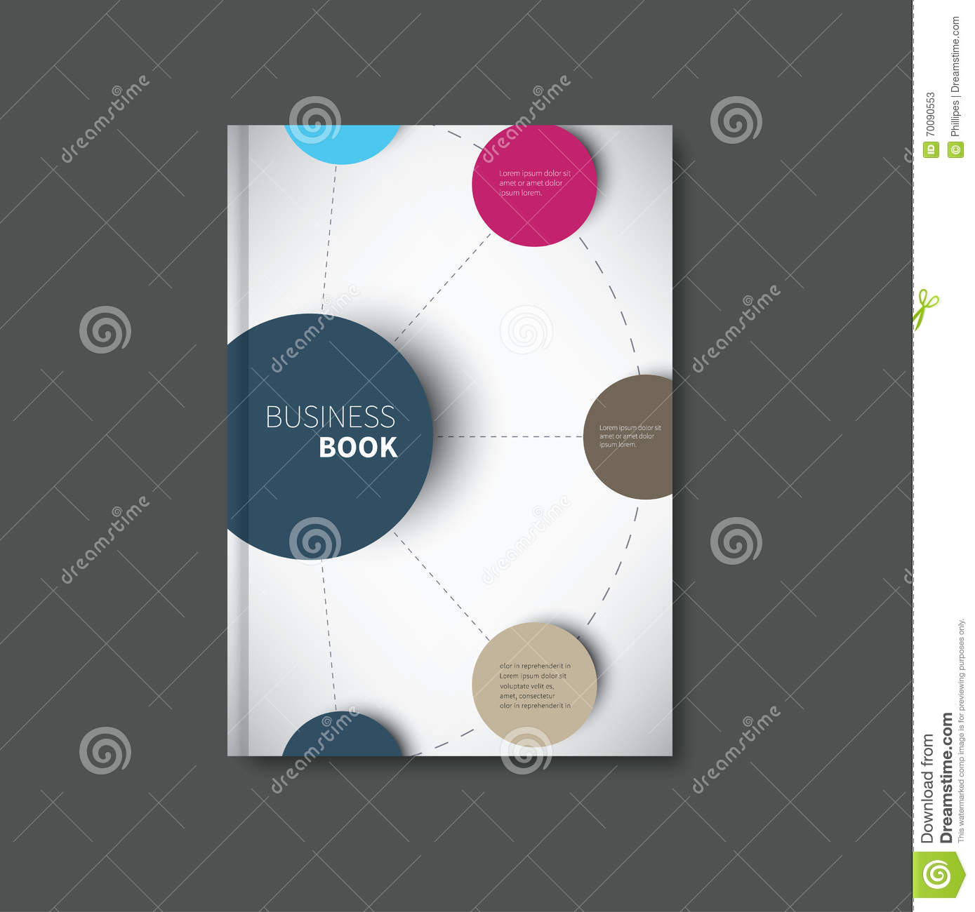 How To Make A Book Cover Using Illustrator ~ Infographic book cover vector illustration cartoondealer