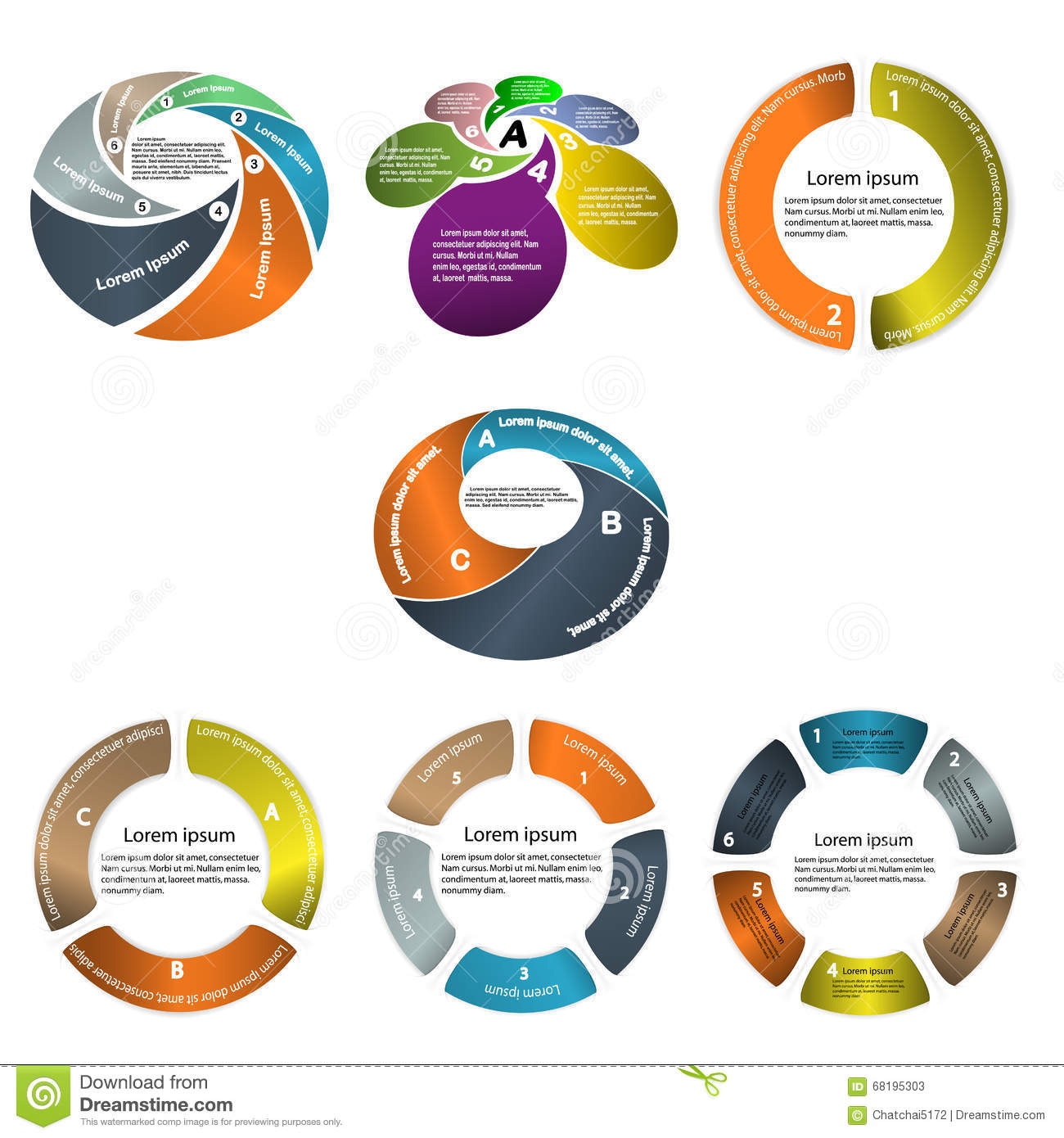 Infographic Business Presentation Template.Powerpoint Template D ...