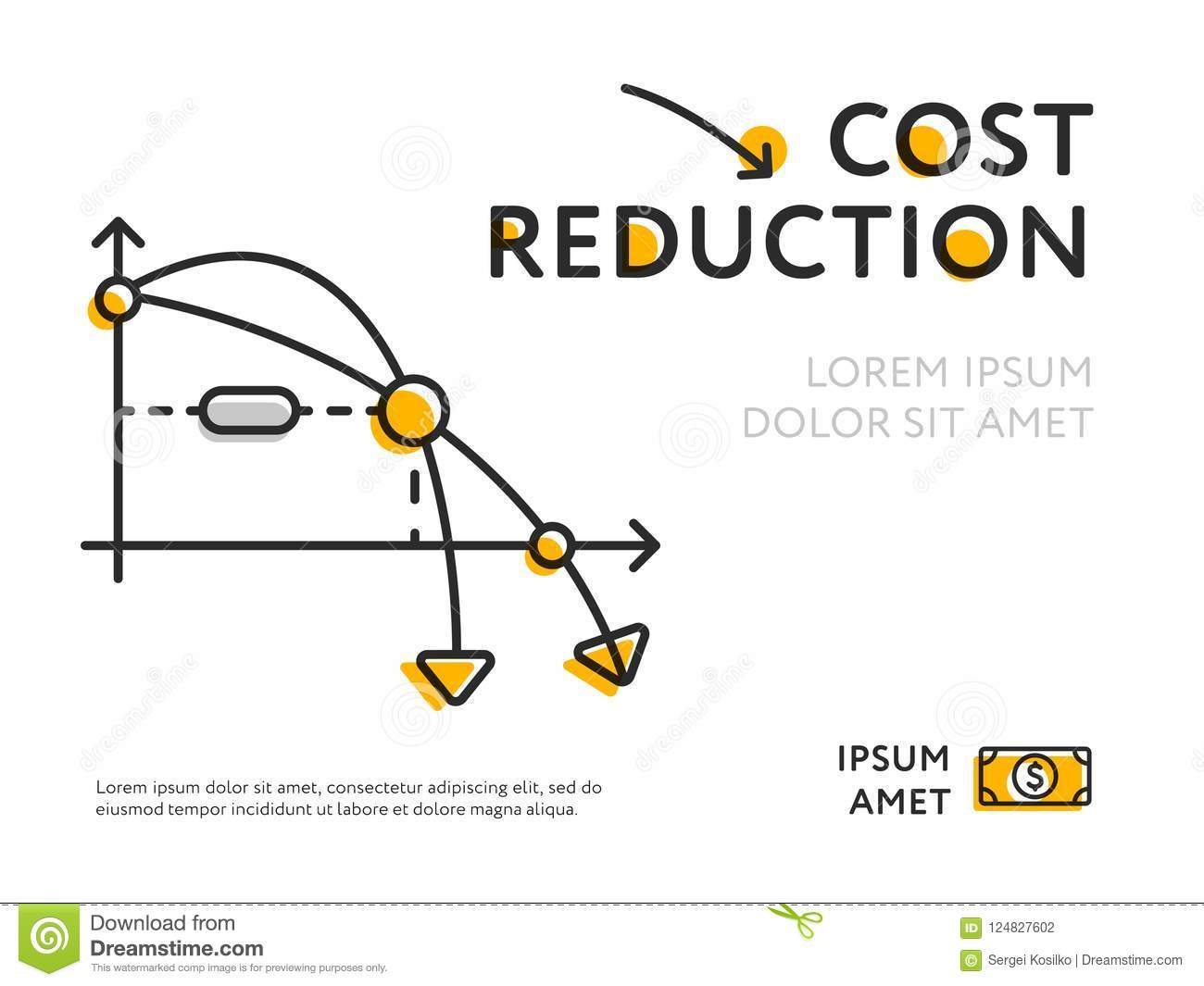 Infographic Cost Reduction