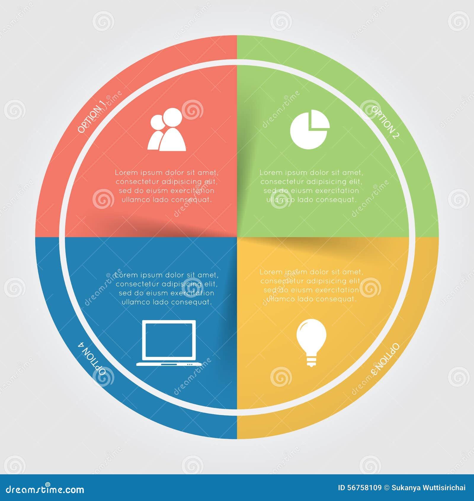 Infographic color circular chart stock image image 56758109 infographic color circular chart nvjuhfo Images