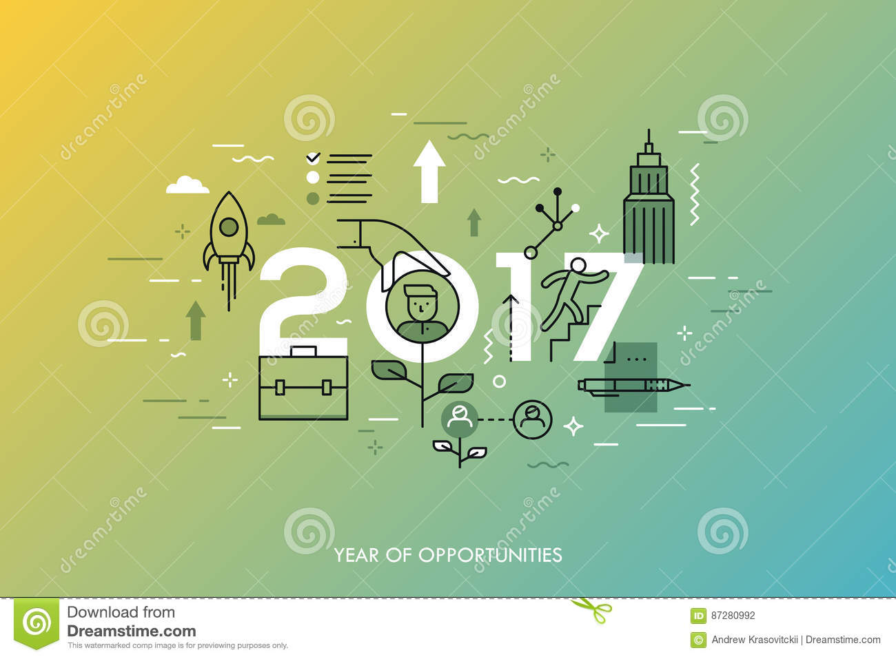 infographic concept year of opportunities new trends and infographic concept 2017 year of opportunities new trends and prospects in career building