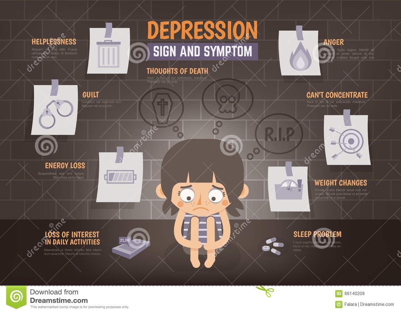 Image result for infographics signs of depression