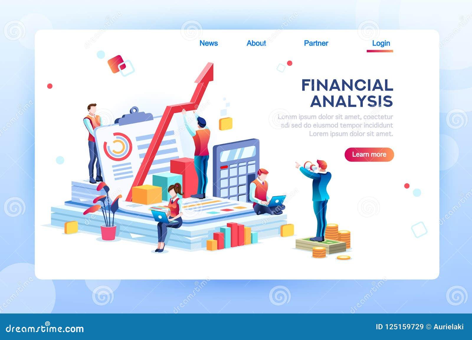 Infographic des Diagramms des finanziellen Risikos