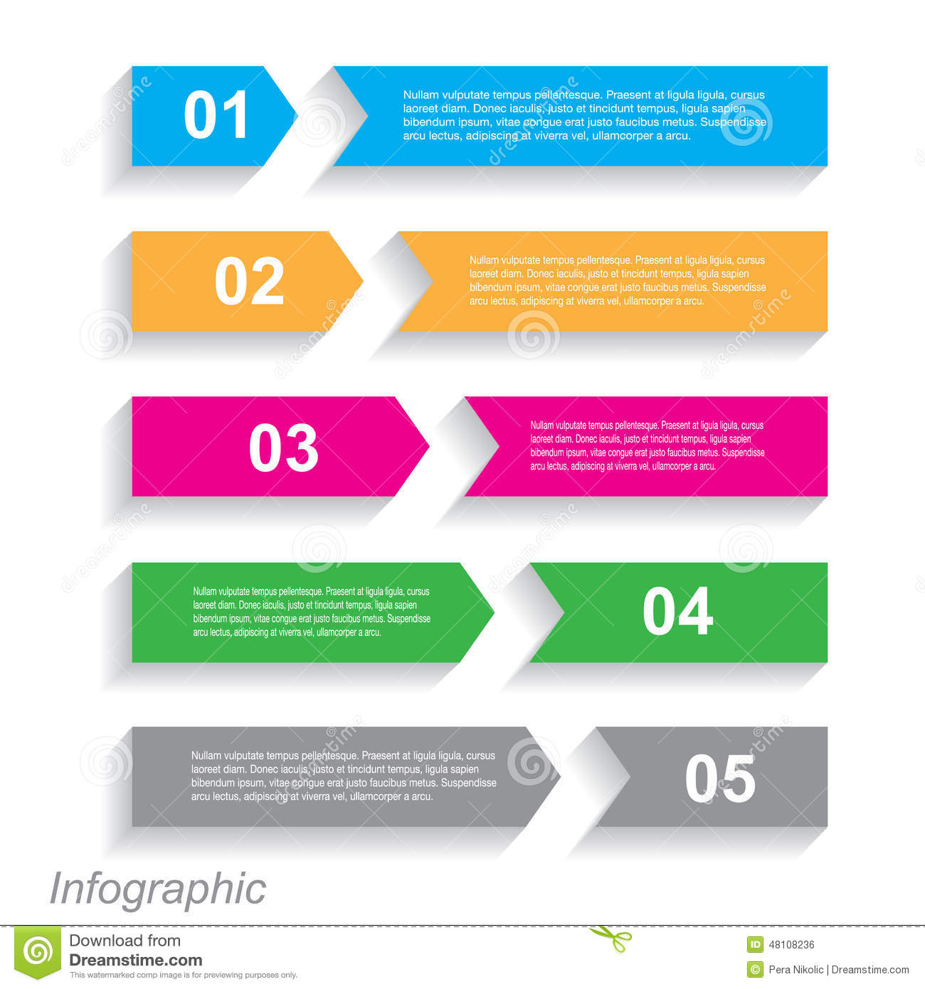 Infographic Design For Product Ranking Stock Vector - Image: 48108236