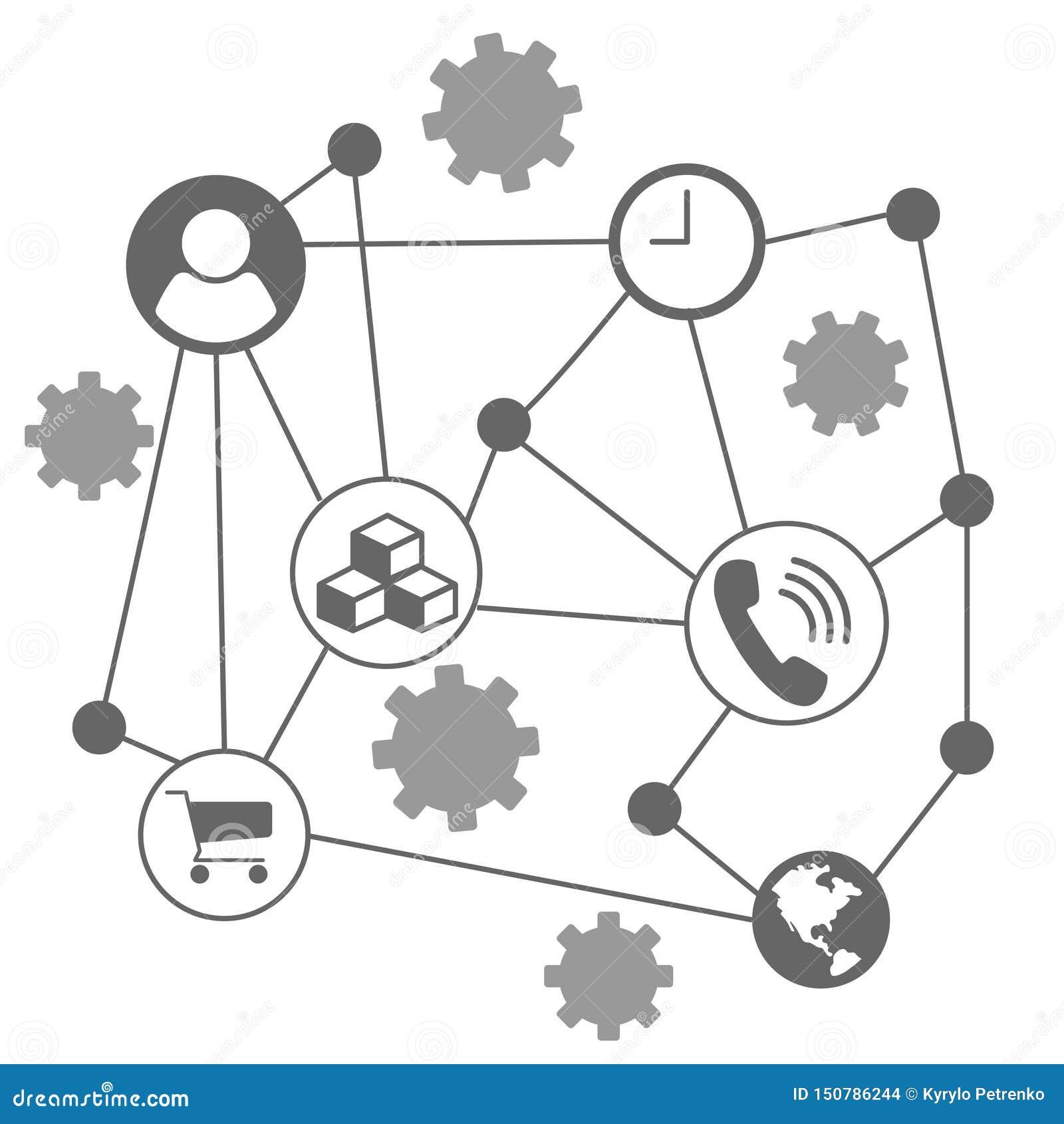 Infographic diagram för någon vit bakgrund för affär