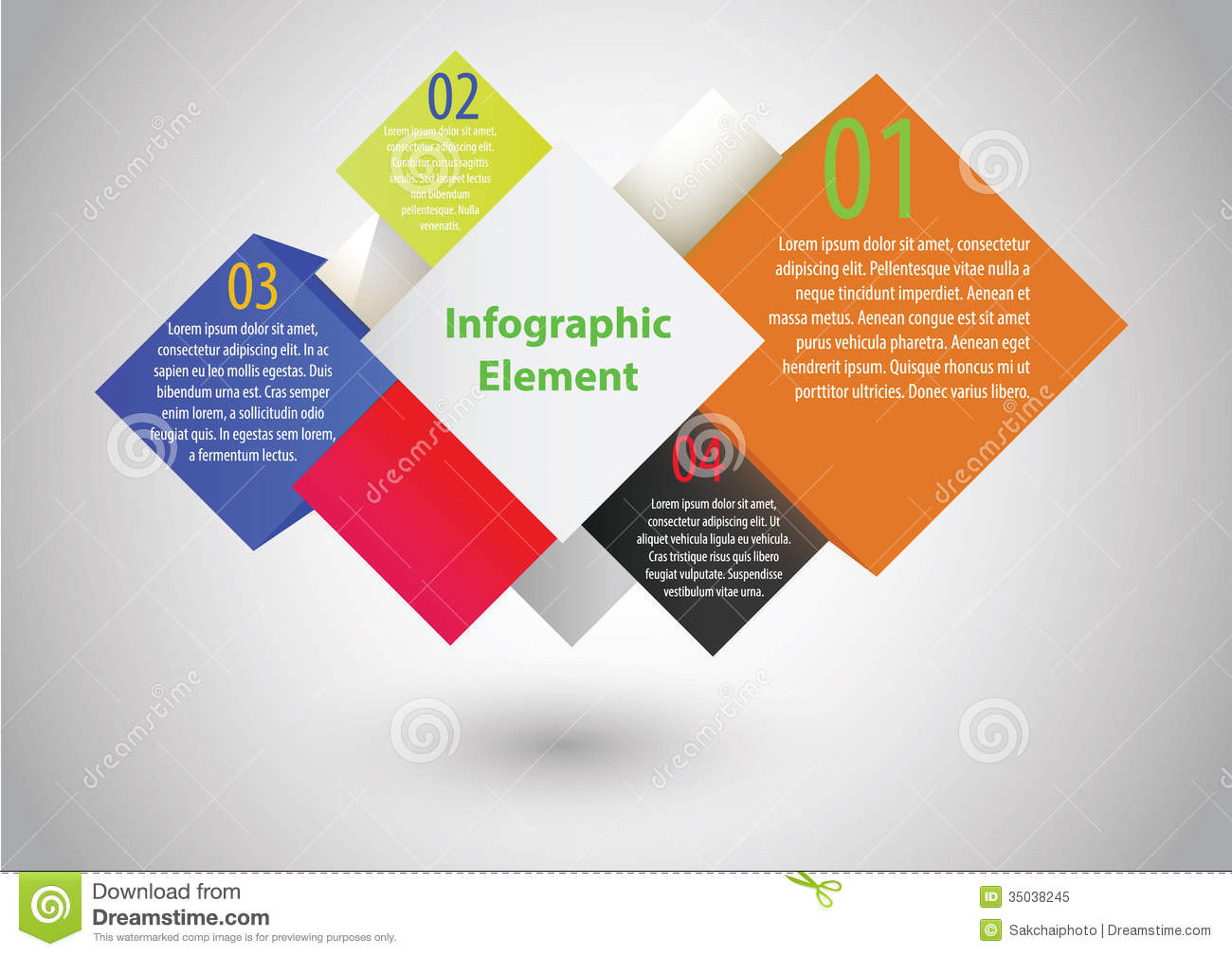 Infographic Element Vector Illustration Stock Vector ...