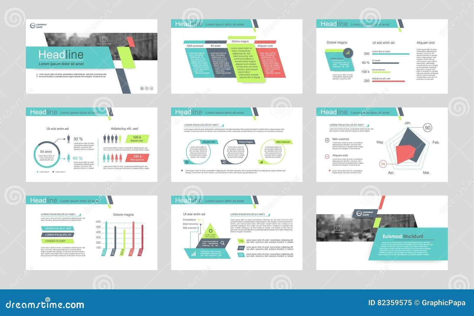 powerpoint presentation template background. stock vector, Annual Report Powerpoint Presentation Template, Presentation templates