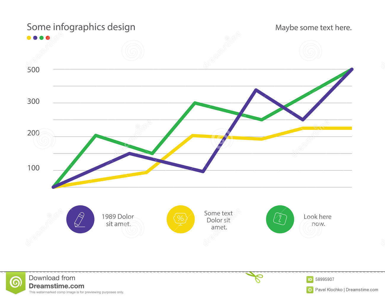 Infographic line diagram or graph design with percent useful for infographic line diagram or graph design with percent useful for presentation web design or advertisement illustration 58995907 megapixl ccuart Images