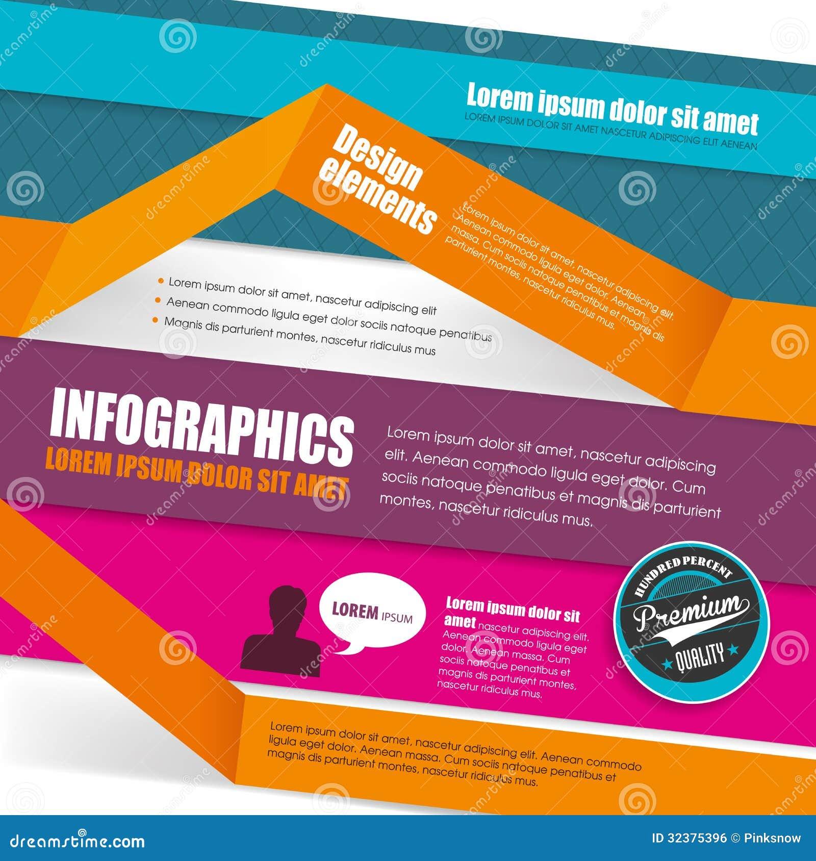 Infographic malldesign