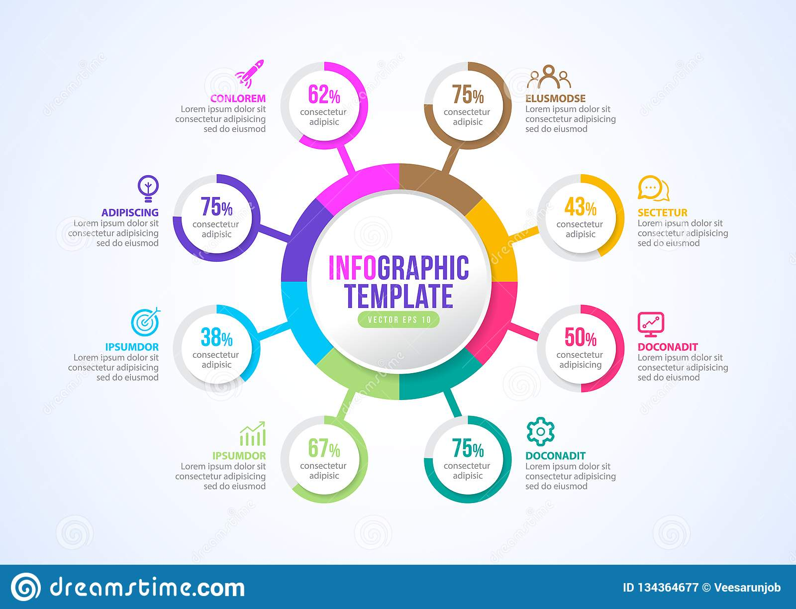 Infographic Presentation For Business Template Timeline ...